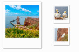 Polaroidcollage Helgoland