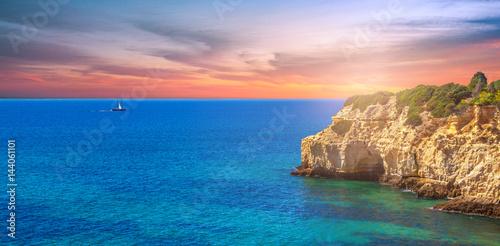 Fototapeta Küstenlinie Algarve, Portugal