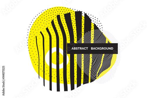 Fototapeta Vector minimal abstract design