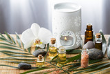 Essential oil for aromatherapy, spa concept