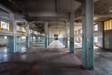 Abandoned Factory Hall in Decay.