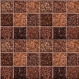 Fototapety Seamless background of coffee beans