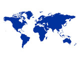世界地図 縮図 グローバル