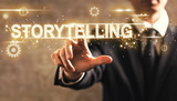 StoryTelling text with businessman - 144145985