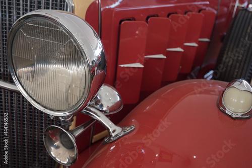 Zdjęcia Antique Red Automobile