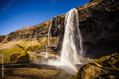 Seljalandsfoss waterfall - 144154183