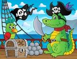 Pirate crocodile theme 2