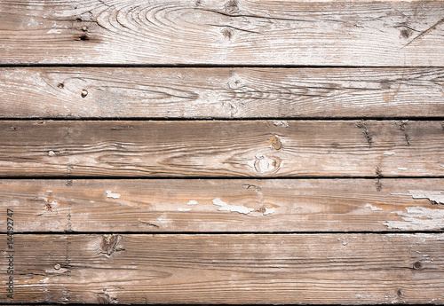 Fototapeta Old wood planks background