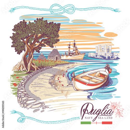 Italian sea land