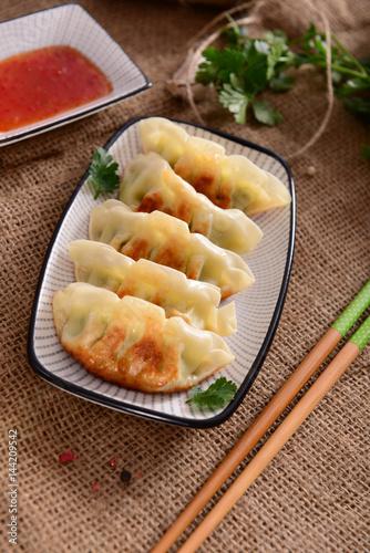 Gyoza dumplings Poster