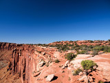 View of cliff plateau at Canyonlands National Park near Moab, Utah, United States