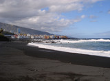 Black beach in Tenerife