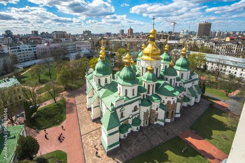 Fotobehang Kiev The famous St. Sophia Cathedral in Kiev