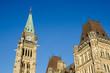 Canadian parliament in Ottawa, Canada