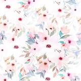 Watercolor seamless pattern. Floral print