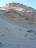 paesaggio nel deserto egiziano