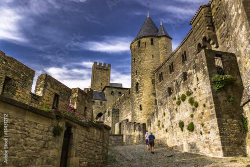Paseando por el castillo Poster