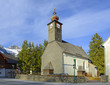 The Roman Catholic Church, Kulm, Ramsau. Known mountain resort under a massive Dachstein near Schladming.