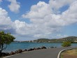 Coastal Road, Culebra, Puerto Rico A scenic coastal road in Culebra offers motorists spectacular view of the beach.