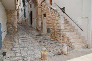 Alleyway. Conversano. Puglia. Italy.  © Mi.Ti.