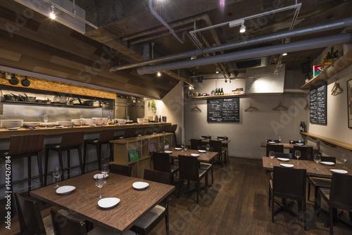 Fotobehang Tokio イタリアンレストラン