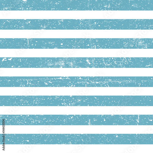 Seamless marine background. Blue grunge lines pattern