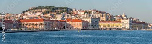 Vue générale de Lisbonne et du Tage