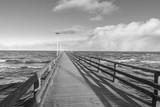 Seebrücke von Ahlbeck auf Usedom - 144476521