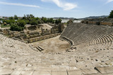 Lycian semicircle amphitheater in Myra in Turkey - 144489789