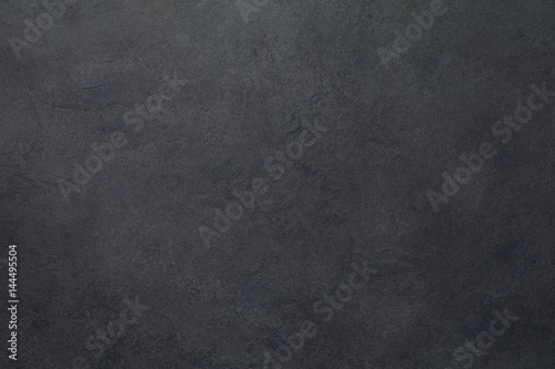 Black stone or slate texture background Poster