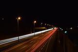 Autobahn Langzeitbelichtung