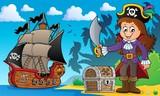 Pirate girl theme image 4