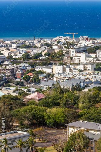 Billede  ville de Saint-Denis, Réunion