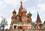 Saint Basil's Cathedral, is a church in the Red Square in Moscow, Russia.