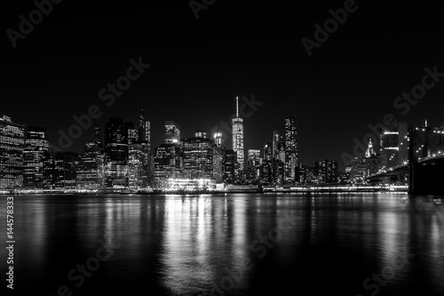 Poster Manhattan at Night