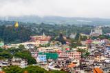 Top View of Ta Chi Lek City in Myanmar