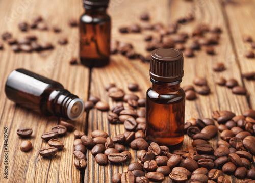 Tuinposter Gymnastiek Coffee essential oil