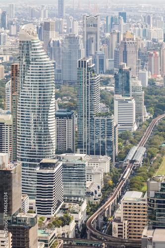 Foto op Plexiglas Bangkok Bangkok Aerial View