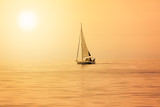 Sailboat at sunset - 144642562