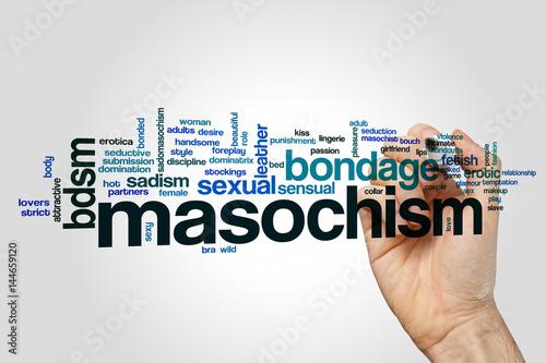 Masochism word cloud