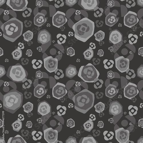 Tuinposter Stof Organic background. Seamless pattern.Vector. 有機的なパターン