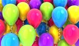 Many balloons background - 144682932
