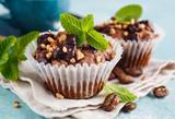 Fototapeta Chocolate Muffins close-up