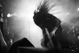 Metal singer headban...