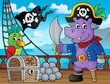 Pirate hippo theme 3