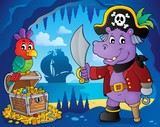 Pirate hippo theme 4
