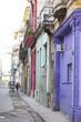 キューバ ハバナの街並み