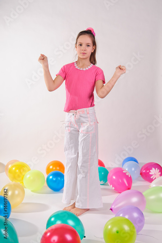 Balloon Party Poster