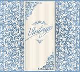 Vintage ornate decorative blank - 144702317