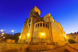 Cathedral of San Juan de Albacete in early morning time